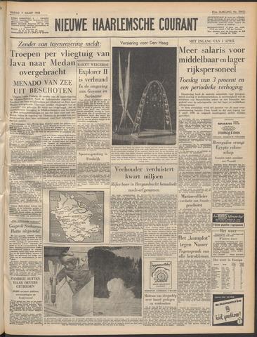 Nieuwe Haarlemsche Courant 1958-03-07