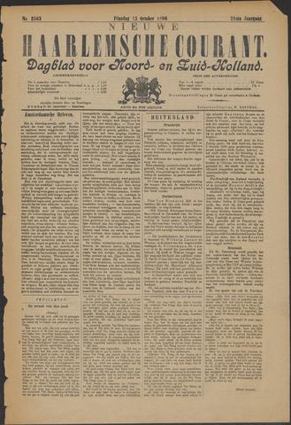 Nieuwe Haarlemsche Courant 1896-10-13