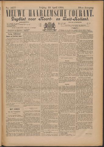 Nieuwe Haarlemsche Courant 1904-04-22