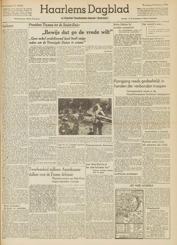 Haarlem's Dagblad 1950-10-18
