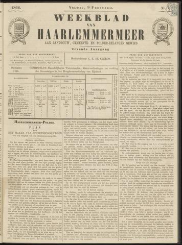 Weekblad van Haarlemmermeer 1866-02-09