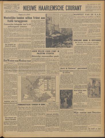 Nieuwe Haarlemsche Courant 1948-03-22