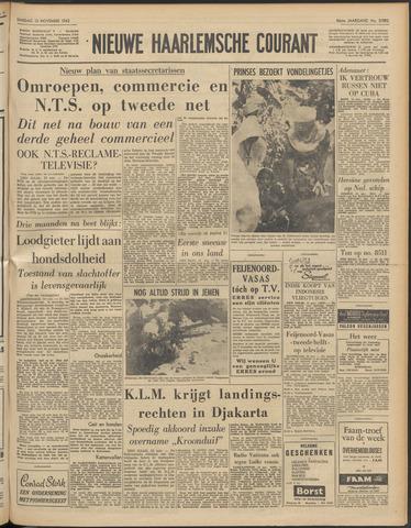 Nieuwe Haarlemsche Courant 1962-11-13