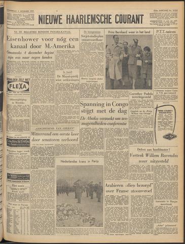 Nieuwe Haarlemsche Courant 1959-11-05