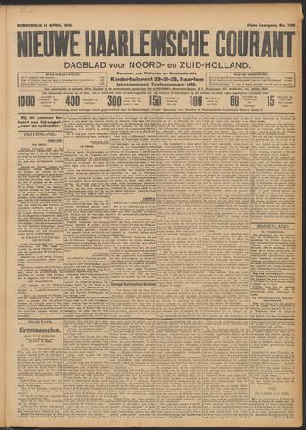 Nieuwe Haarlemsche Courant 1910-04-14