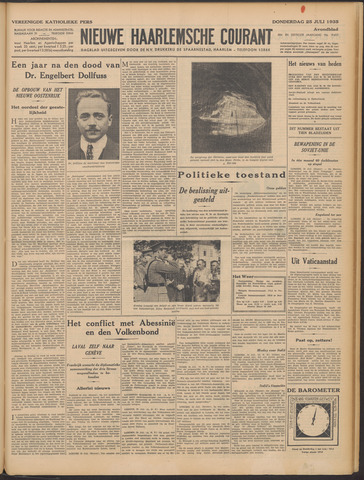 Nieuwe Haarlemsche Courant 1935-07-25