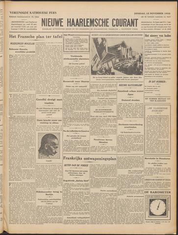Nieuwe Haarlemsche Courant 1932-11-15