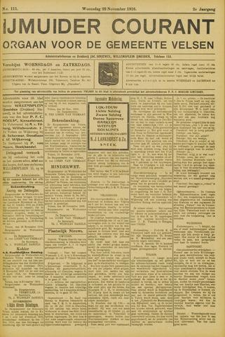 IJmuider Courant 1916-11-22