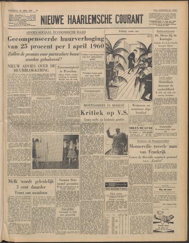 Nieuwe Haarlemsche Courant 1959-04-29