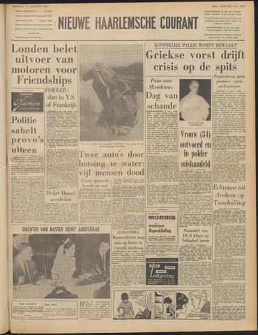 Nieuwe Haarlemsche Courant 1965-08-09