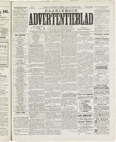 Haarlemsch Advertentieblad 1882-11-11