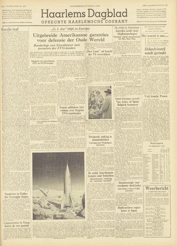 Haarlem's Dagblad 1954-04-17