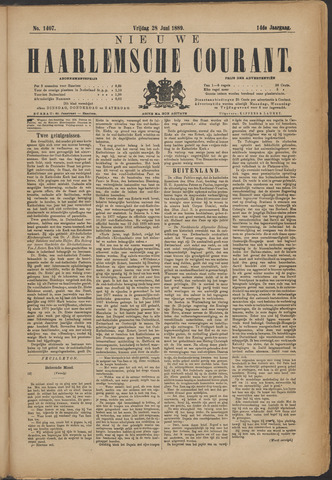 Nieuwe Haarlemsche Courant 1889-06-28