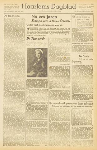 Haarlem's Dagblad 1945-11-20