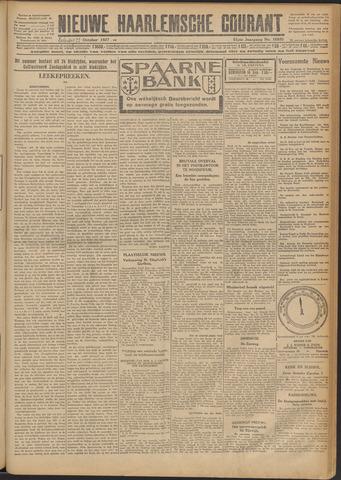 Nieuwe Haarlemsche Courant 1927-10-22