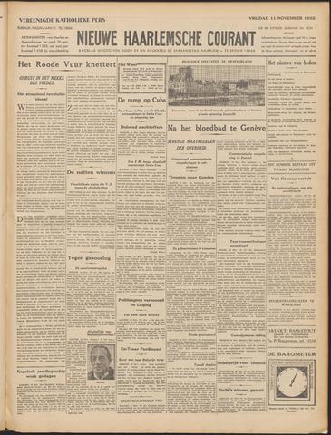 Nieuwe Haarlemsche Courant 1932-11-11