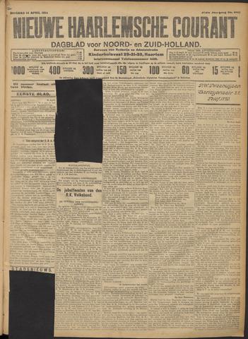 Nieuwe Haarlemsche Courant 1914-04-14