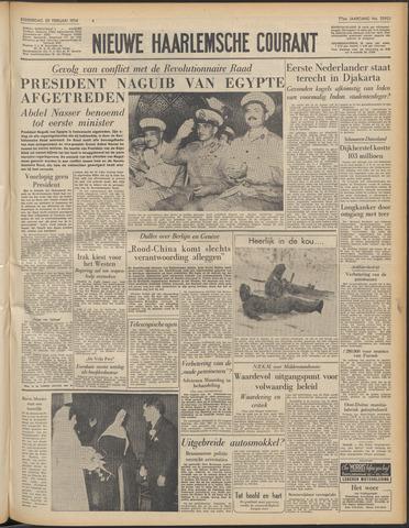 Nieuwe Haarlemsche Courant 1954-02-25