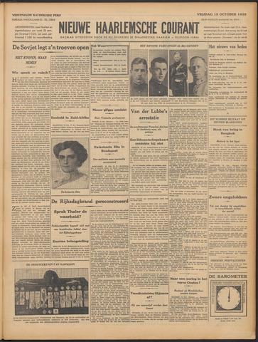 Nieuwe Haarlemsche Courant 1933-10-13