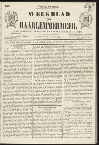 Weekblad van Haarlemmermeer 1861-03-22