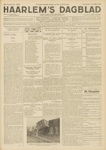 Haarlem's Dagblad 1935-10-17