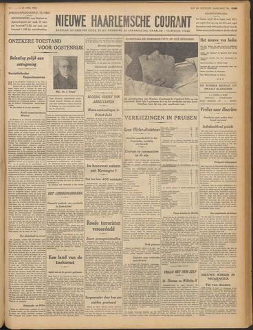 Nieuwe Haarlemsche Courant 1932-04-25