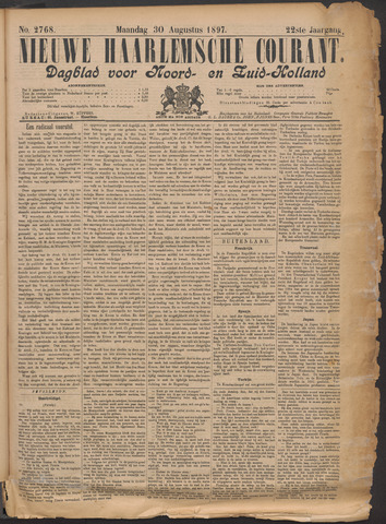 Nieuwe Haarlemsche Courant 1897-08-30