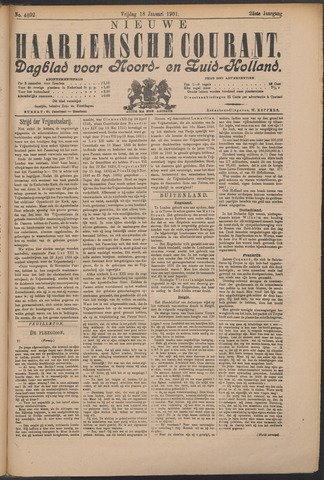 Nieuwe Haarlemsche Courant 1901-01-18