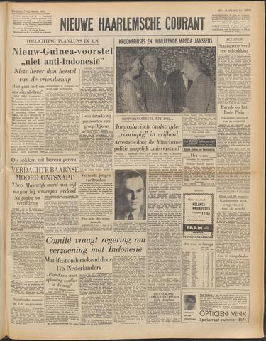 Nieuwe Haarlemsche Courant 1961-11-07