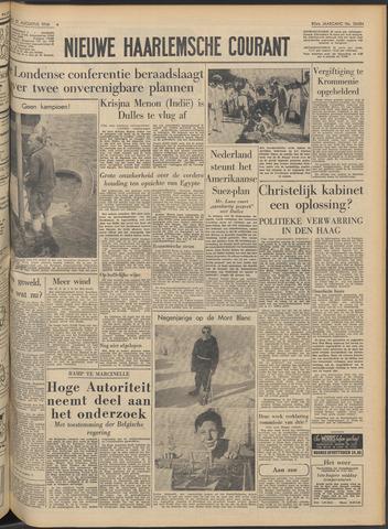 Nieuwe Haarlemsche Courant 1956-08-21