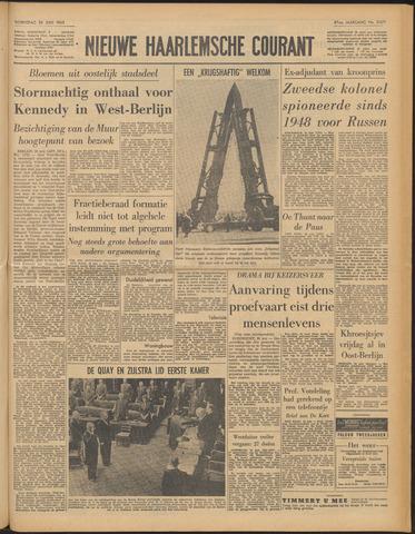 Nieuwe Haarlemsche Courant 1963-06-26
