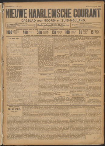 Nieuwe Haarlemsche Courant 1908-10-01