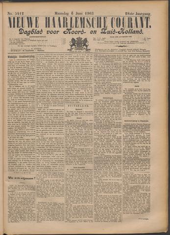 Nieuwe Haarlemsche Courant 1903-06-08