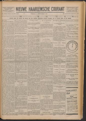 Nieuwe Haarlemsche Courant 1930-09-12