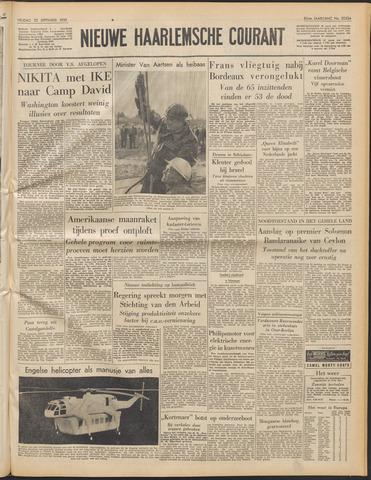 Nieuwe Haarlemsche Courant 1959-09-25