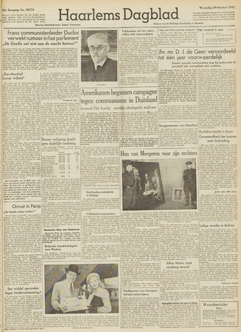 Haarlem's Dagblad 1947-10-29