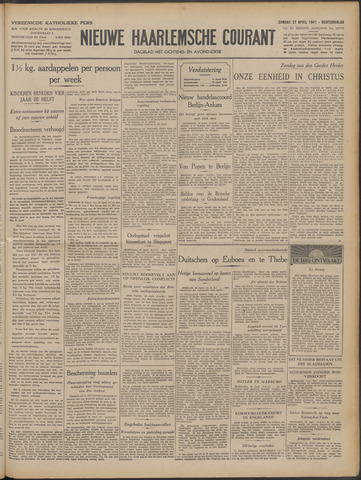 Nieuwe Haarlemsche Courant 1941-04-27