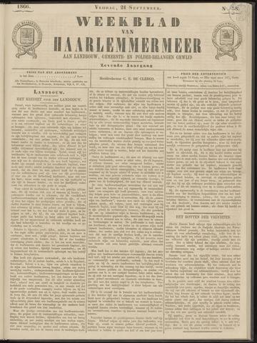 Weekblad van Haarlemmermeer 1866-09-21
