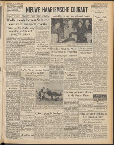 Nieuwe Haarlemsche Courant 1954-10-27