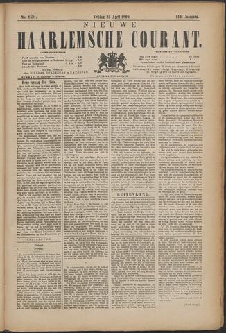 Nieuwe Haarlemsche Courant 1890-04-25