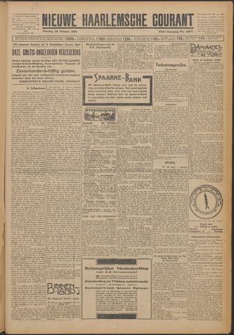 Nieuwe Haarlemsche Courant 1924-10-28