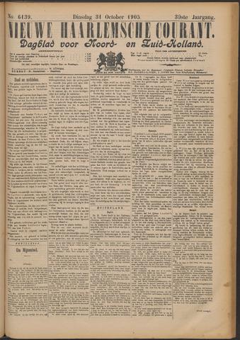 Nieuwe Haarlemsche Courant 1905-10-31