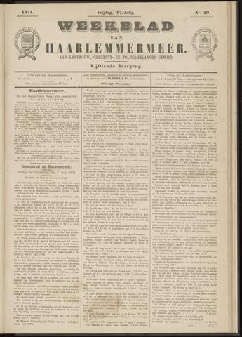 Weekblad van Haarlemmermeer 1874-07-17