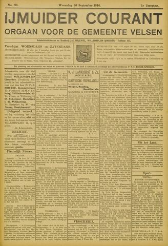 IJmuider Courant 1916-09-20