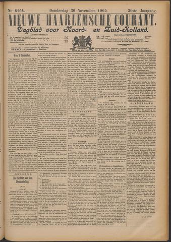 Nieuwe Haarlemsche Courant 1905-11-30