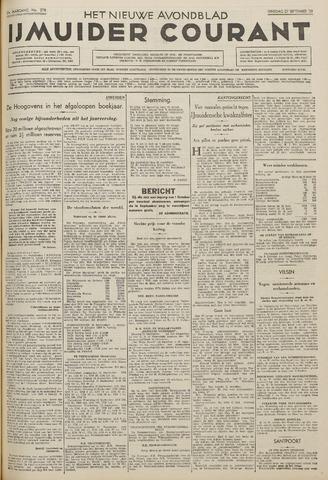 IJmuider Courant 1938-09-27