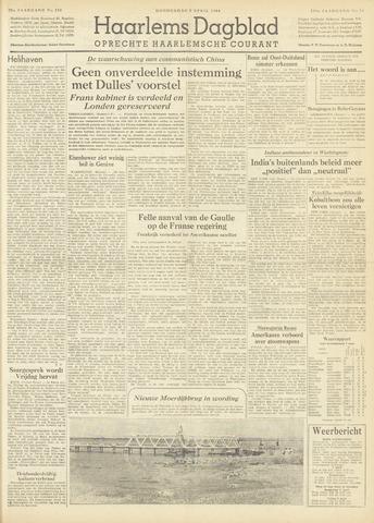 Haarlem's Dagblad 1954-04-08