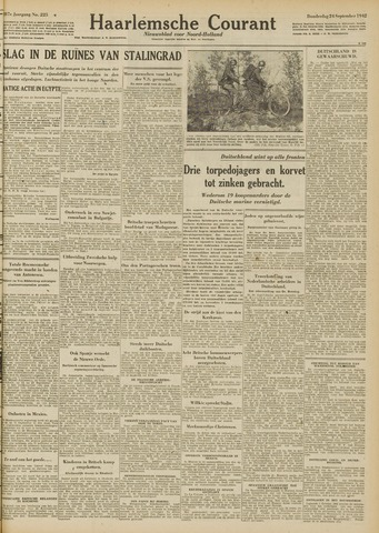 Haarlemsche Courant 1942-09-24