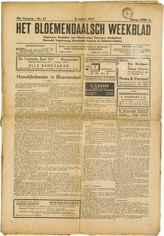 Het Bloemendaalsch Weekblad 1937