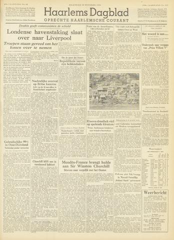 Haarlem's Dagblad 1954-10-18